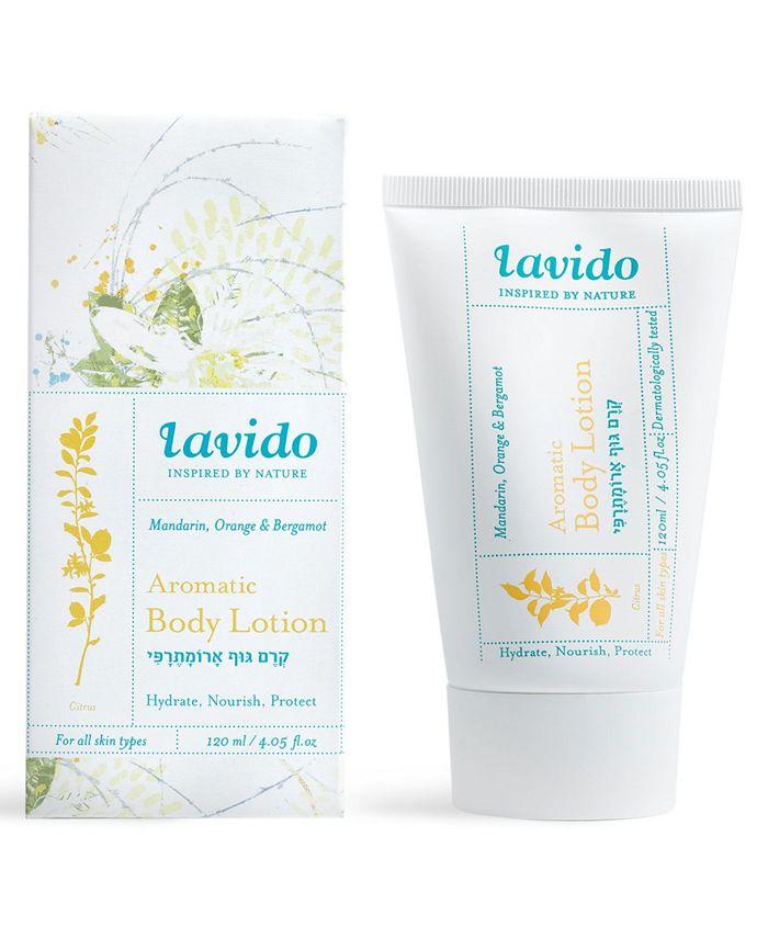 Lavido - Aromatic Body Lotion - Mandarin, Orange & Bergamot, 4-oz.