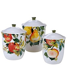 Ambrosia 3-Pc. Canister Set