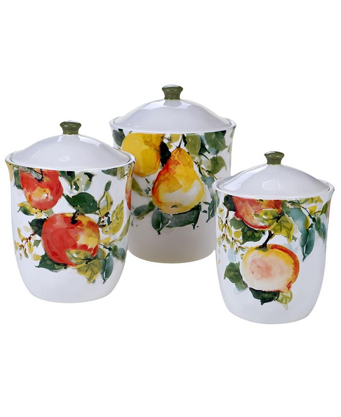 Tracy Porter - Ambrosia 3-Pc. Canister Set