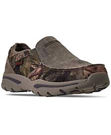 Skechers Men's Relaxed Fit Creston Moseco Slip-On Casual Sneakers from Finish Line