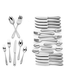 Lannigan 50-PC Flatware Set, Service for 8