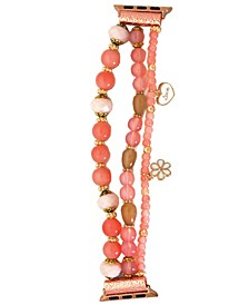 Bead and Charm Apple Watch Bracelet