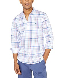 Men's Big & Tall Navtech Performance Stretch Plaid Shirt