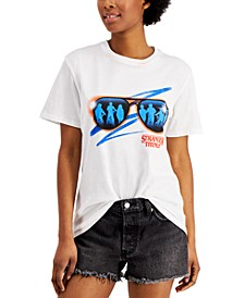Juniors' Stranger Things Logo Graphic T-Shirt