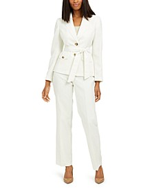 Belted Pantsuit