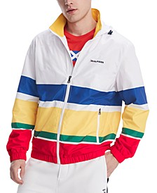 Men's Weekender Striped Water-Resistant Yacht Jacket