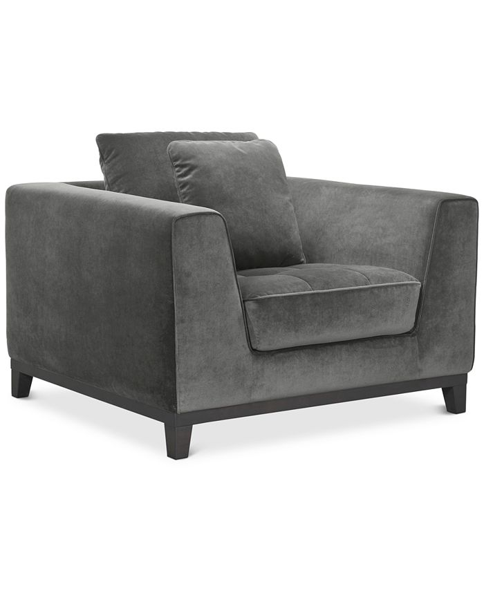 """Furniture - Trentley 42"""" Fabric Chair"""