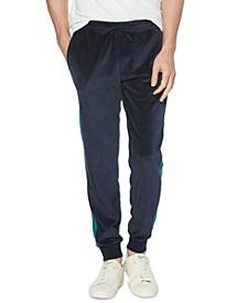 Men's Velour Colorblock Track Pants