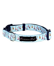 Sail Boats Dog Collar