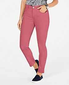 Petite Tummy-Control Skinny Jeans, Created for Macy's