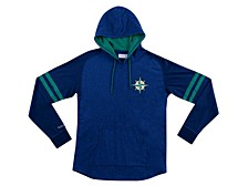 Seattle Mariners Men's Midweight Applique Hoodie