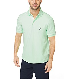 Men's Classic-Fit Stretch Pique Polo Shirt