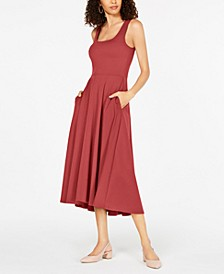 Tank Fit & Flare Midi Dress, Created for Macy's
