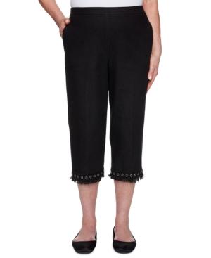 Women's Missy Checkmate Capri Pants