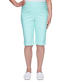 Alfred Dunner Spring Lake Pull-On Bermuda Shorts