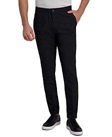 Kenneth Cole Reaction Men's Slim-Fit Stretch Houndstooth Jogger Dress Pants
