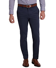 Men's Slim-Fit Technicole Stretch Flex Waistband Dress Pants