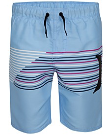 Big Boys Splash Striped Swim Suit