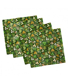 "St. Patrick's Day Set of 4 Napkins, 18"" x 18"""
