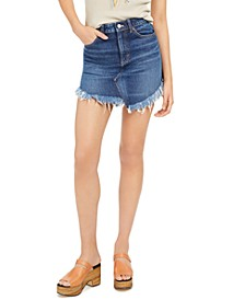 Bailey Solid Denim Mini Skirt