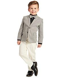 Little Boys 4-Pc. Bold Dobby Suit Set