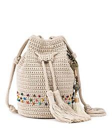 Sayulita Crochet Mini Drawstring