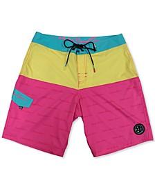 Men's Scripted Stretch Board Shorts
