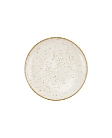Earth Eggshell Cocktail Plate