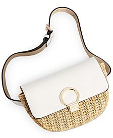 Straw Bottle Convertible Belt Bag