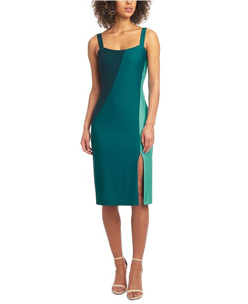 RACHEL Rachel Roy Colorblocked Sheath Dress