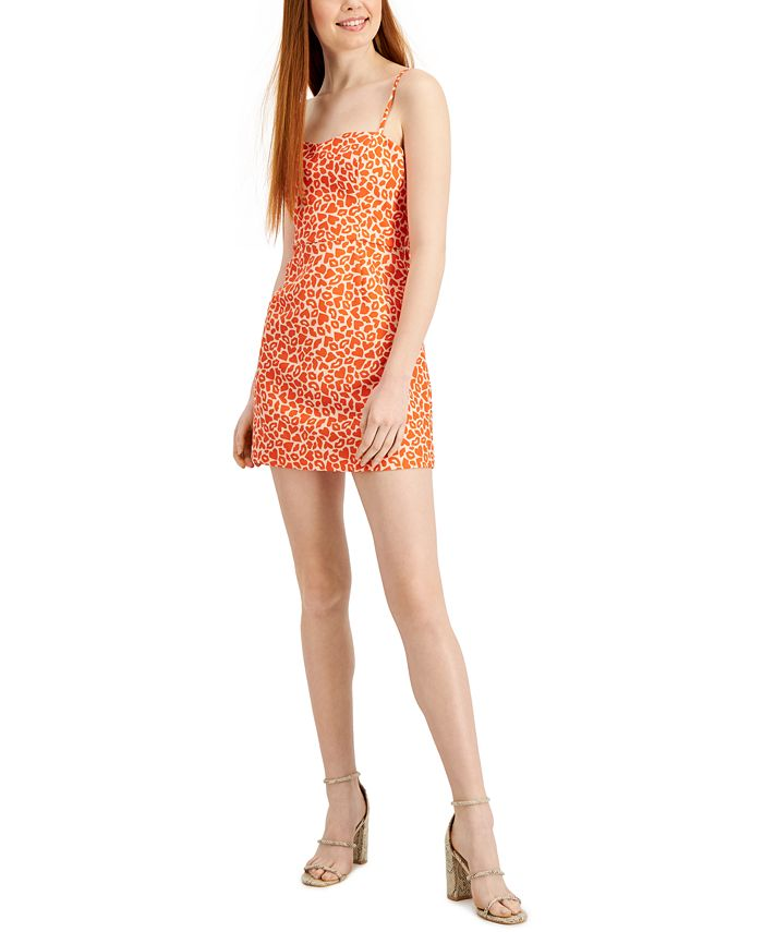 French Connection - Etta Kiss-Print Sleeveless Dress