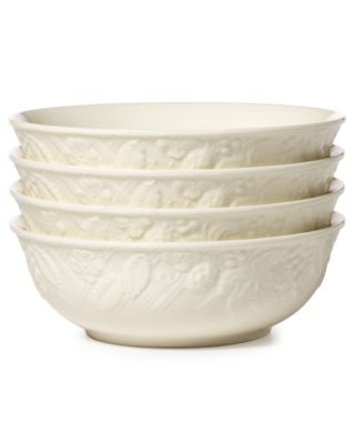 Dinnerware, Set of 4 English Countryside Cereal Bowls