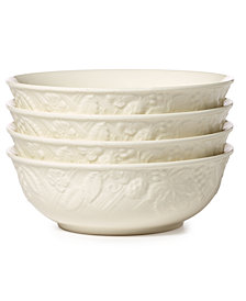 Mikasa Dinnerware, Set of 4 English Countryside Cereal Bowls