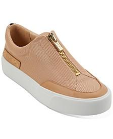 Ravyn Zipper Flatform Sneakers