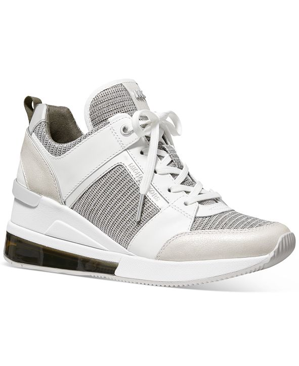 Michael Kors Georgie Trainer Signature Logo Extreme Sneakers