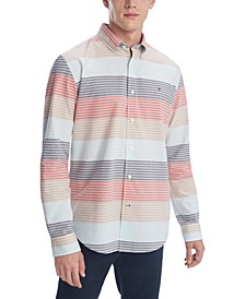 Men's Stretch Jude Lake Striped Shirt