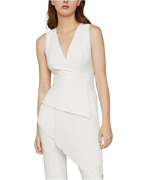 BCBGMAXAZRIA Asymmetrical Top