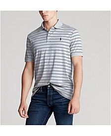 Men's Big & Tall Classic Fit Soft Cotton Interlock Polo Shirt