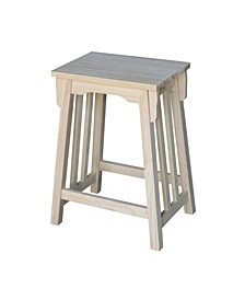 Mission Counter Height Stool