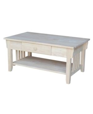 International Concepts Mission Coffee Table