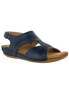 Easy Street Sloane Leather Sandals