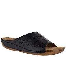 Easy Street Valerie Leather Sandals
