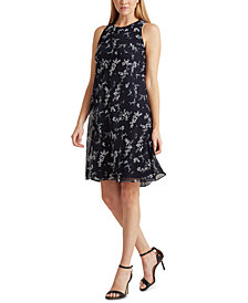 Lauren Ralph Lauren Floral-Print A-Line Dress