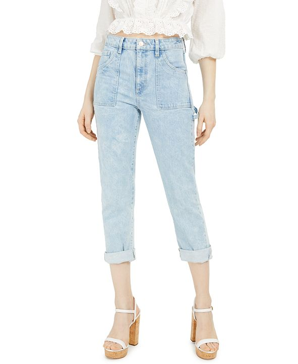 GUESS High-Waist Carpenter Jeans