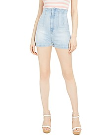 Alexis High-Waist Denim Shorts