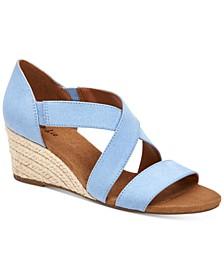 Zaddie Wedge Sandals, Created for Macy's