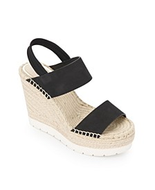 Olivia Simple Wedges Sandal