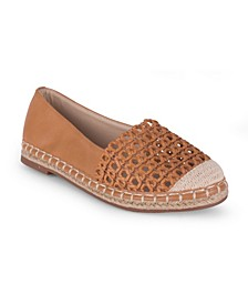 Bristol Womens' Perforated Espadrille Flat