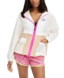 Women's Sportswear Colorblocked Hooded Jacket