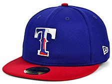 Texas Rangers 2020 Men's Batting Practice Fitted Cap